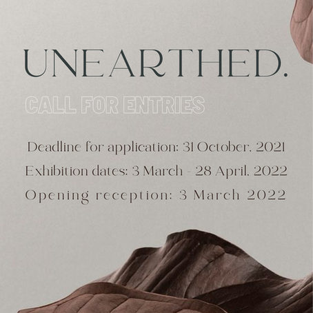 CALL FOR ENTRY: UNEARTHED (VMAA 2022 Group Exhibition)