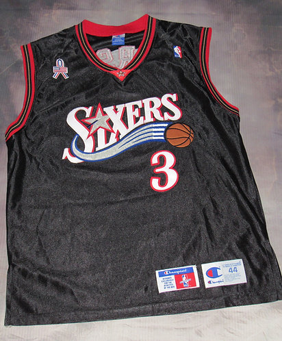 Champion Philadelphia 76ers Allen Iverson Road Jersey