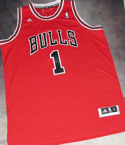 Adidas Bulls Derrick Rose Road Swingman Jersey