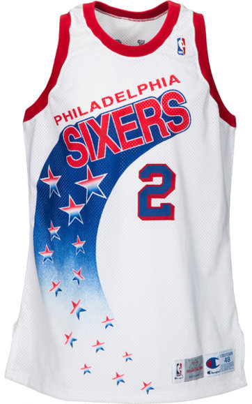 Retro Sixers Jersyes - Catchy graphics entailed with 76ers jerseys