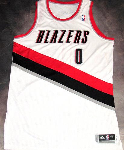 Adidas Portland Trail Blazers Damian Lillard Jersey