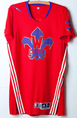 Adidas NBA all Star Sleeved Jerseys