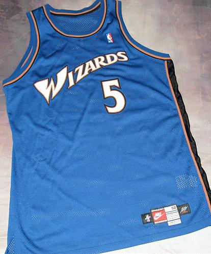 Nike Washington Wizards Juwon Howard Road Jersey