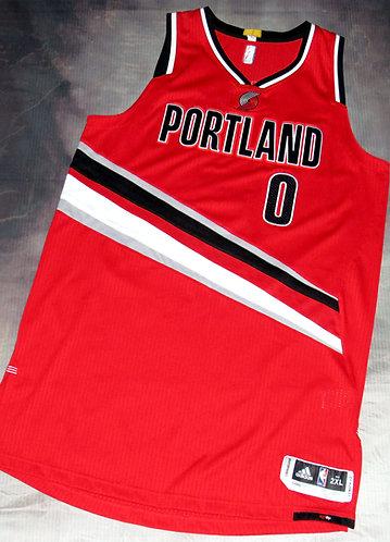 Adidas Portland Trail Blazers Damian Lillard Alternate Jersey