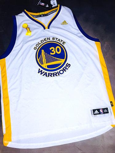 Adidas Golden State Warriors 2015 NBA Finals Steph Curry Jersey