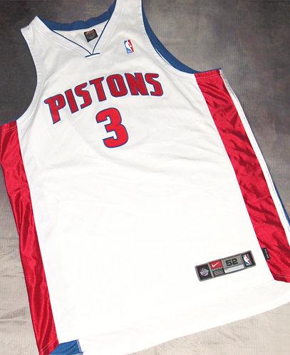 Nike Detroit Pistons Ben Wallace Home Jersey