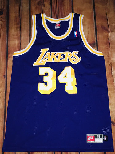 Nike LA Lakers Shaq Road Jersey