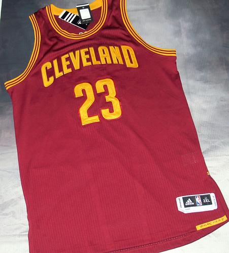 Adidas Cleveland Cavs Lebron James Road Jersey