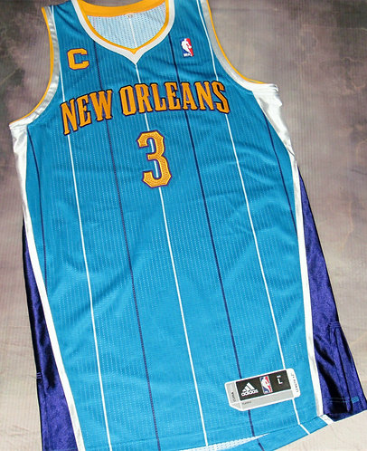 Adidas New Orleans Hornets Chris Paul Road Jersey