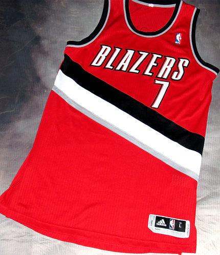 Adidas Portland Trail Blazers Brandon Roy Alternate Jersey