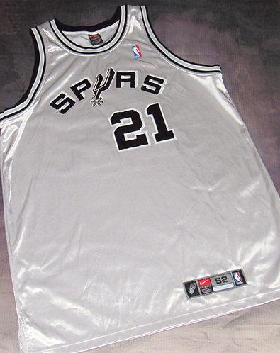 Nike San Antonio Spurs Tim Duncan Alternate Jersey