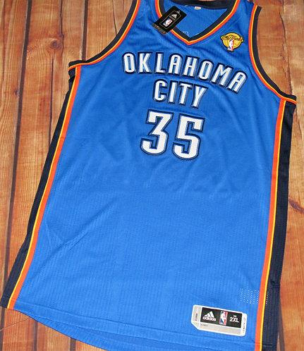 Adidas OKC Thunder Kevin Durant NBA Finals Jersey
