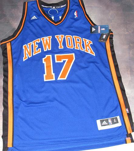 Adidas New York Knicks Jeremy Lin Road Jersey