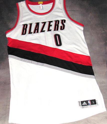 Adidas Portland Trail Blazers Damian Lillard Home Jersey