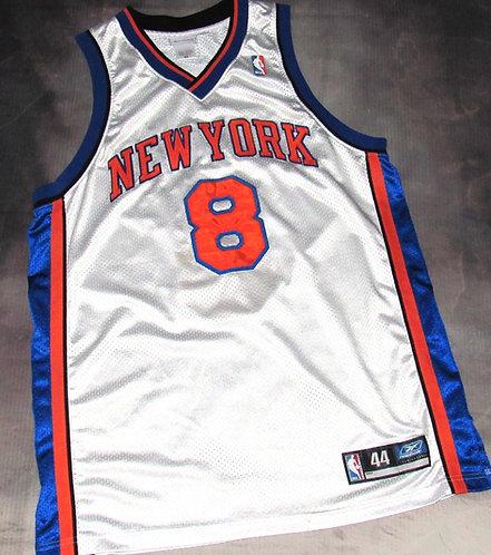 Reebok New York Knicks Latrell Sprewell Home Jersey