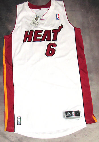 Adidas Miami Heat Lebron James Home Jersey