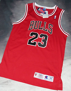 Champion Chicago Bulls Michael Jordan Road Jersey