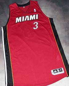 Adidas Miami Heat Dwayne Wade Alternate Jersey