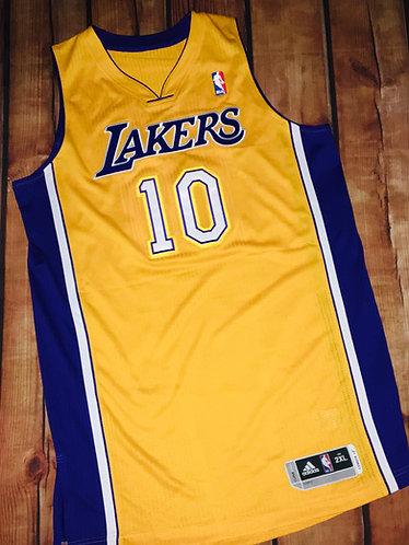 Adidas LA Lakers Steve Nash Home Jersey
