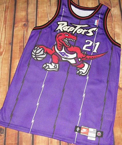 Nike Toronto Raptors Marcus Camby Road Game Jersey
