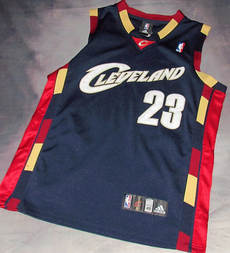 Adidas Cleveland Cavs Lebron James Alternate Jersey