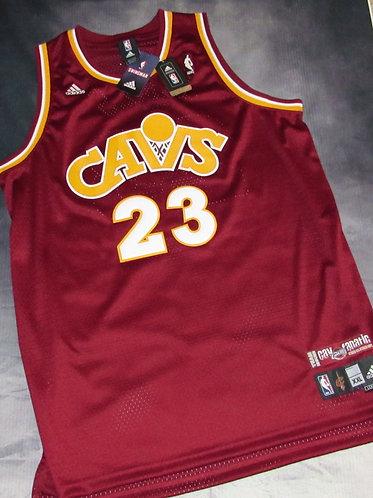 Adidas Cleveland Cavaliers Lebron James Cav Fanatic Jersey