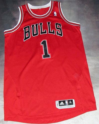Adidas Bulls Derrick Rose Jersey