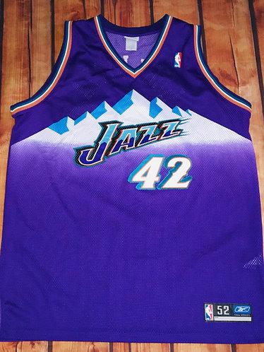 Reebok Utah Jazz Tom Gugliotta Road Jersey