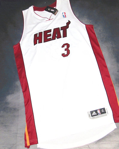 Authentic Dwayne Wade Miami Heat Home Jersey