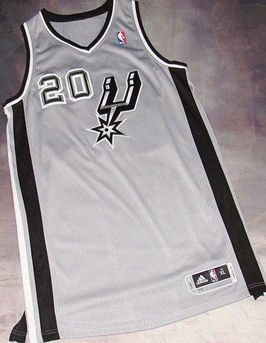 Adidas San Antonio Spurs Manu Ginobili Alternate Jersey