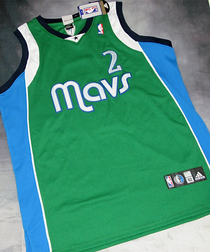 Adidas Dallas Mavericks Jason Kidd Alternate Jersey