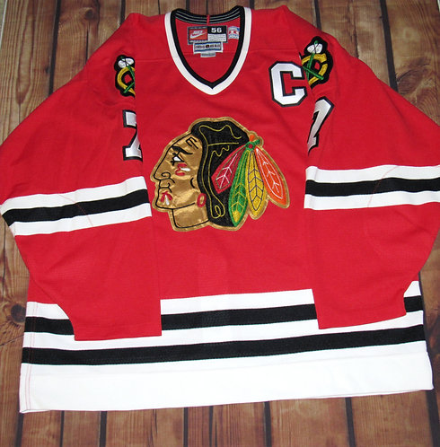 Nike Chicago Blackhawks Chris Chelios Road Jersey