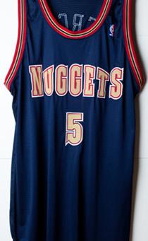 Elegance of Nuggets jerseys....