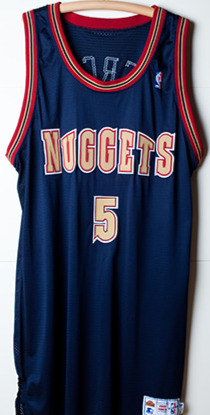 1993 Nuggets Jersey