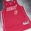 Adidas Miami Heat Lebron James Red Hot Jersey