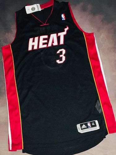 Adidas Miami Heat Dwayne Wade Road Jersey