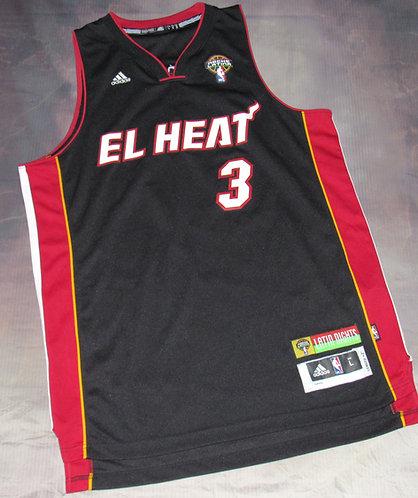 Adidas Miami Heat Latin Nights Dwayne Wade Jersey