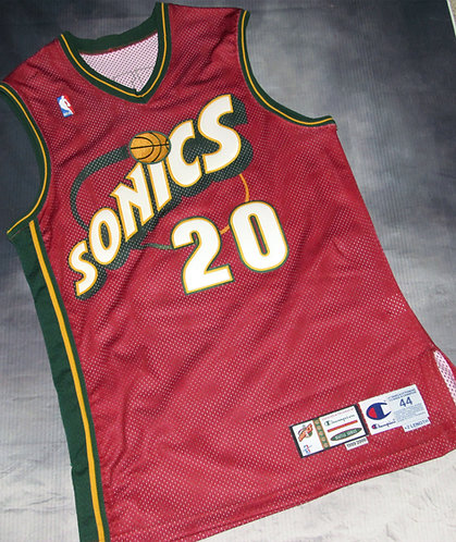 Champion Super Sonics Gary Payton Alternate Game Jersey