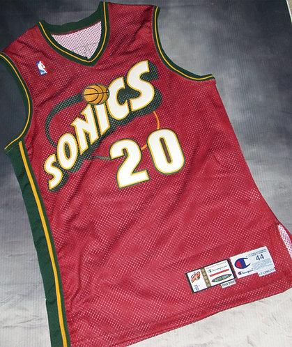 Champion Super Sonics Gary Payton Alternate Game Jersey