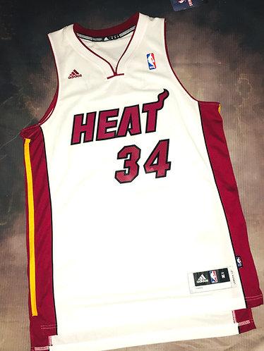 Adidas Miami Heat Ray Allen Home Jersey