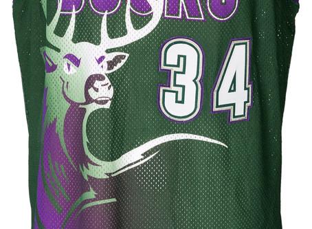 Bucks Alternate Jerseys....