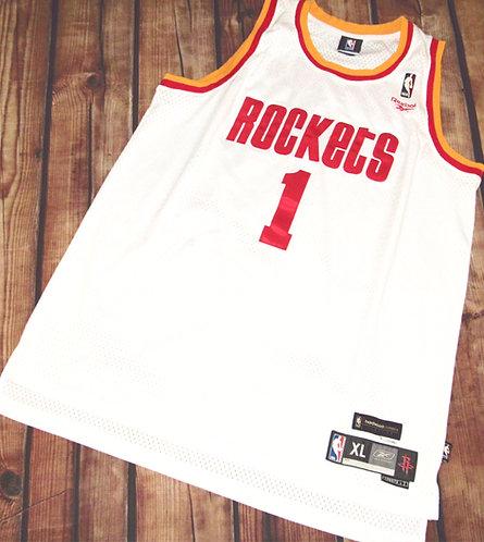 Reebok Houston Rockets Tracy McGrady Hardwood Classics Jersey