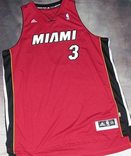Adidas Miami Heat Dwayne Wade Alternate Swingman Jersey