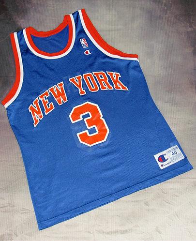 Champion John Starks Knicks Jersey