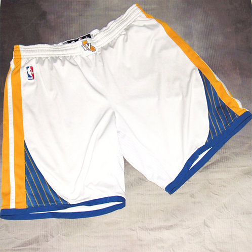 Adidas Golden State Warriors Klay Thompson Game Worn Shorts