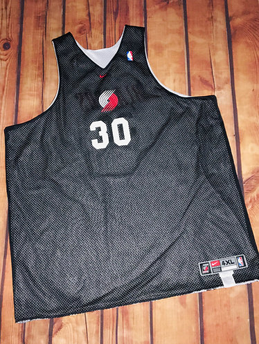 Nike Portland Blazers Rasheed Wallace Game Worn Practice Jersey