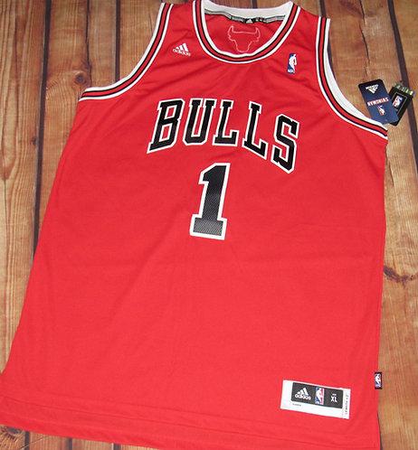 Adidas Chicago Bulls Derrick Rose Road Swingman Jersey