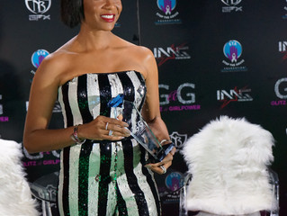 MC Lyte was Honored by the Glitz & GirlPower Awards for Women's History Month
