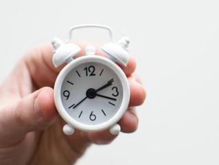 Ter sucesso é saber aproveitar o tempo
