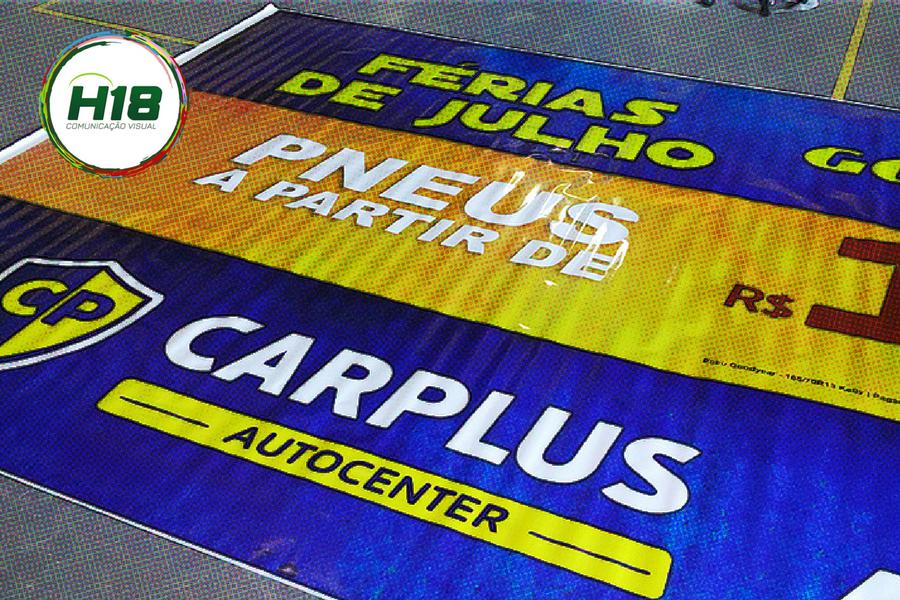 Lona Promocional CarPlus